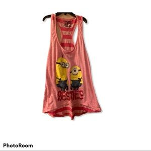 Besties Despicable Me 2 minions size M  tank